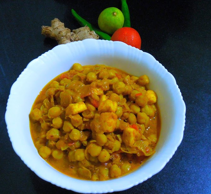 PANEER CHOLE MASALA RECIPE
