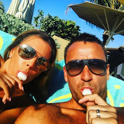 Chelsea captain John Terry shares sexy photo of his wife as they enjoy sun soaked Dubai holiday (Photos)