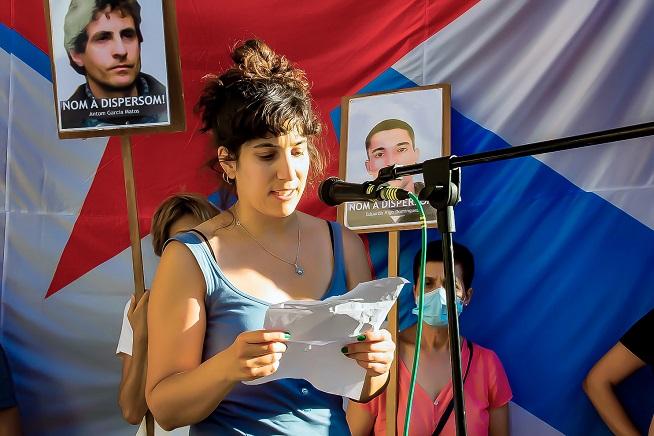 """SARE ANTIFAXISTA: Iria Calvelo: """"Que Ceivar y la lucha antirrepresiva no  sean necesarias, sólo lo vemos posible en una Galiza libre, socialista y  feminista"""""""