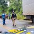 Batida entre dois caminhões deixa uma pessoa morta e outra ferida na BR-415, próximo a Itabuna