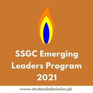 SSGC Emerging Leaders Program 2021