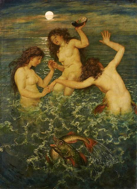 Hans Thoma: Tre sirene