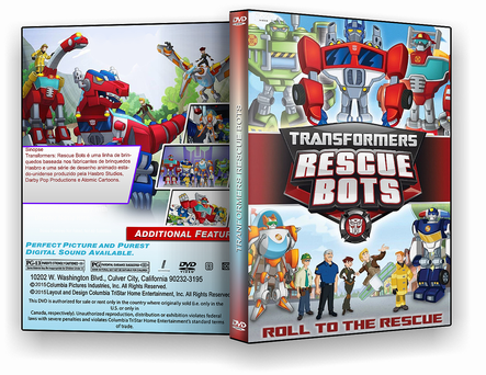 DVD - Transformers Rescue Bots - ISO