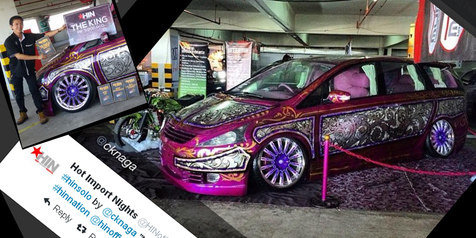 The King of HIN Solo 2014, Mitsubishi Grandis Obeth Saputra