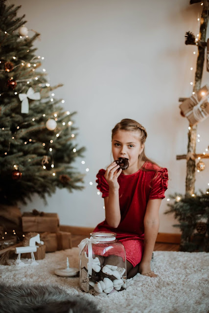 mini sesja świąteczna