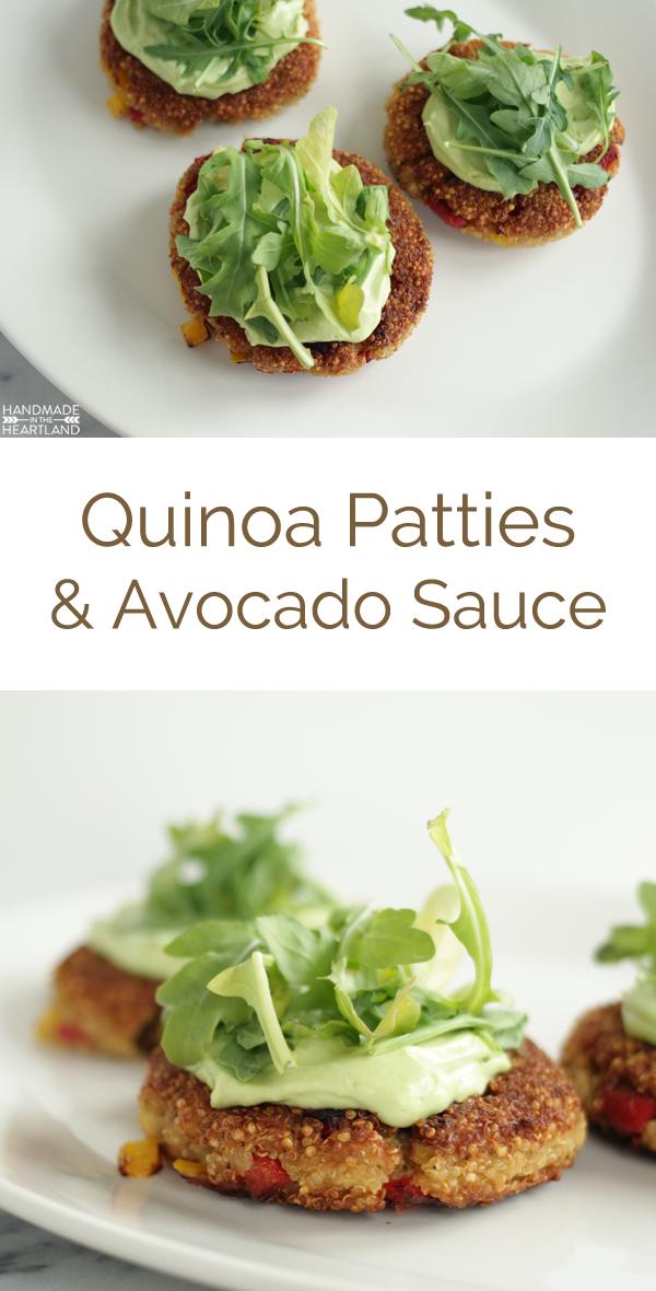 easy recipes or quinoa patties