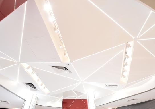 sk-ii 3d crystal ceiling