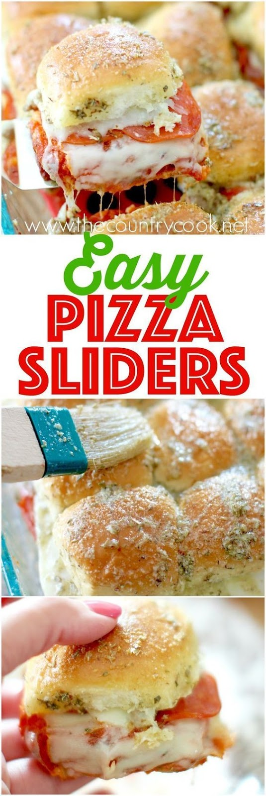 ★★★★☆ 7561 ratings | Pizza Pull-Apart Sliders #HEALTHYFOOD #EASYRECIPES #DINNER #LAUCH #DELICIOUS #EASY #HOLIDAYS #RECIPE #Pizza #PullApart #Sliders