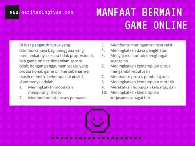 manfaat game online