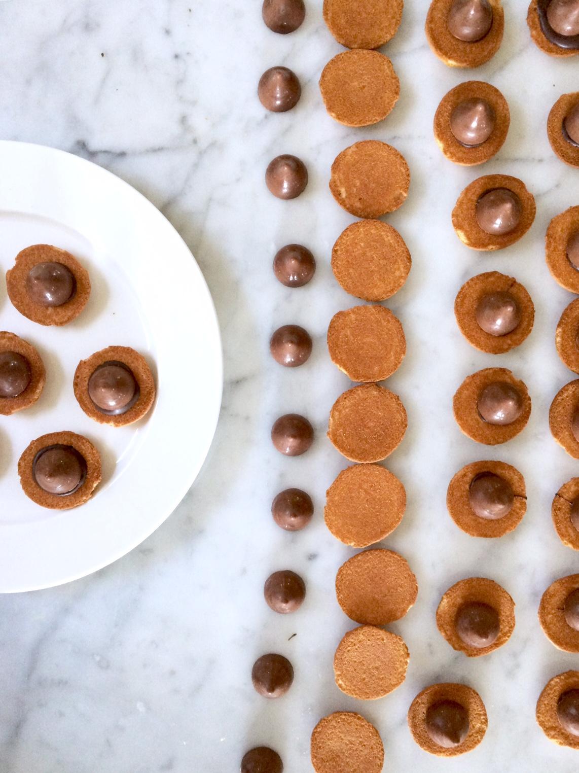 Woodland Birthday Food Ideas chocolate acorns
