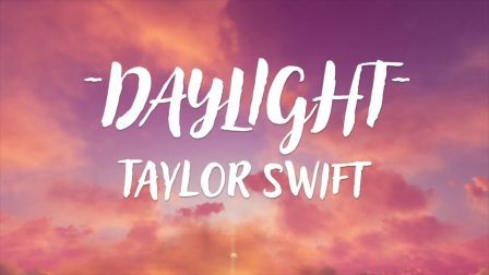 Daylight Guitar Chords and Lyrics with Strumming Pattern | Taylor Swift