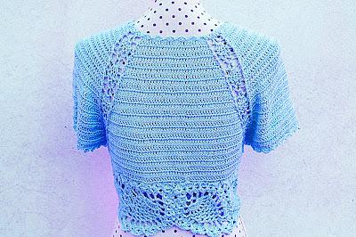 7-Crochet Imagen Bolero a crochet y ganchillo para mujer por Majovel Crochet