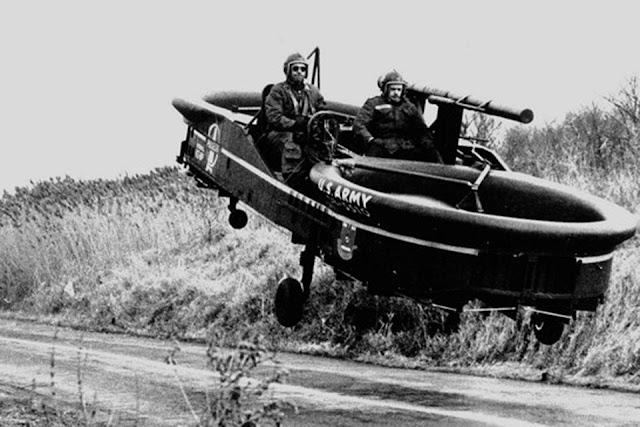 Piasecki AirGeep mobil terbang yang digunakan militer amerika