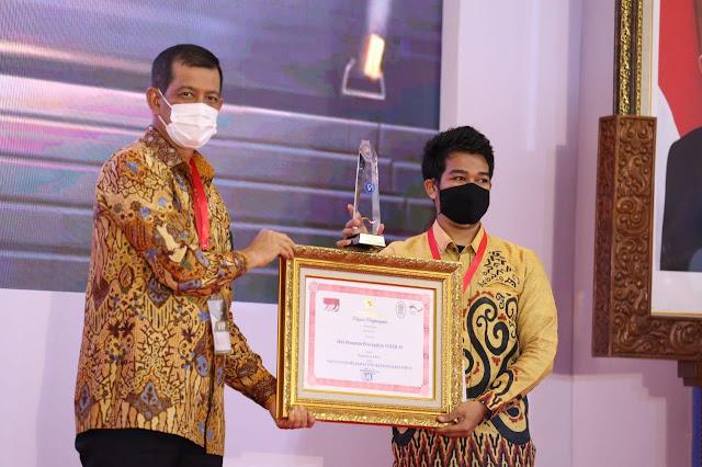 Mahasiswa Unhas Terima Penghargaan TOP 21 Inovasi Penanggulangan Covid-19