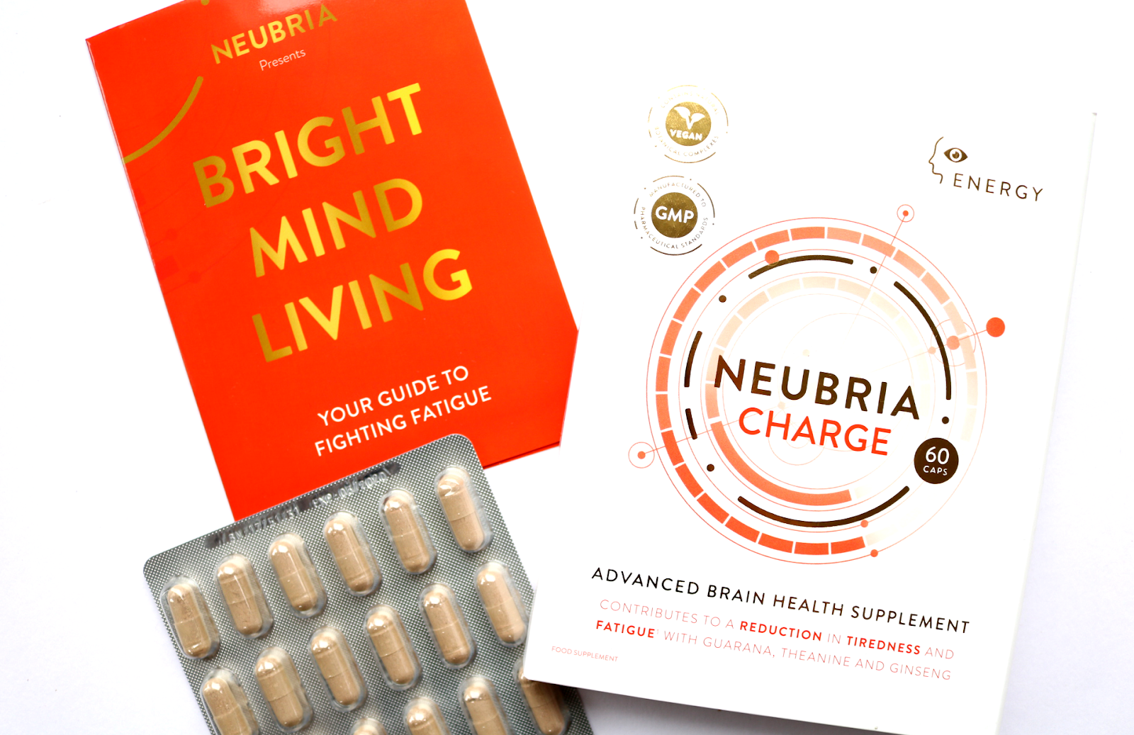 Neubria Charge Advanced Brain Health Supplements review