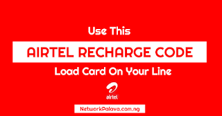 airtel recharge code