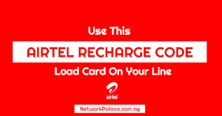 airtel recharge code