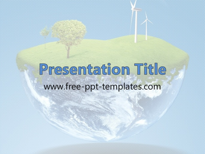 environment ppt template