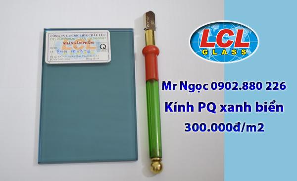 Kính Phản Quang màu xanh biển LCL Glass
