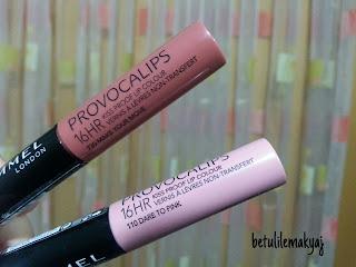 provocalips renkleri