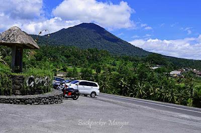 Area Parkir Jatiluwih Rice Terrace
