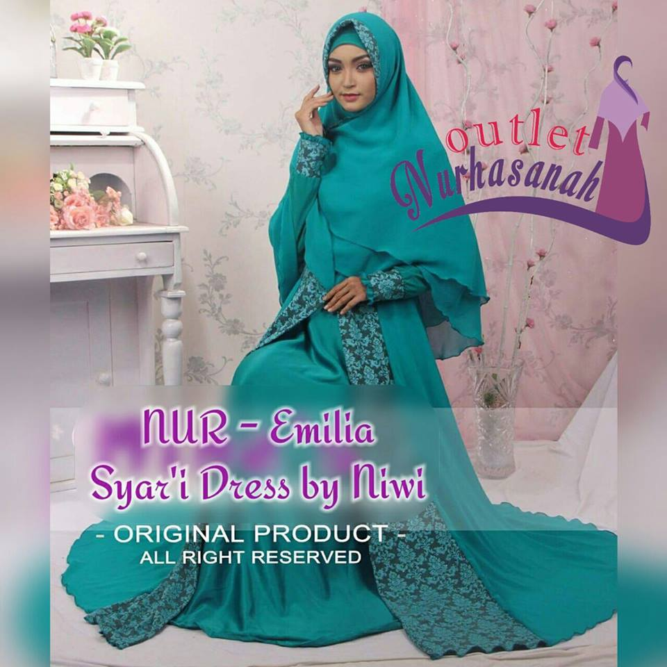 Outlet Nurhasanah Outlet Baju Pesta Keluarga Muslim Ready Stock