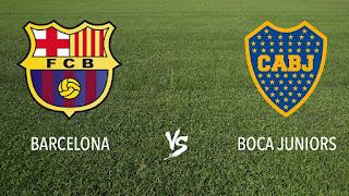 رابط بث مباشر مشاهدة مباراة برشلونة وبوكا جونيورز بث مباشر اون لاين اليوم 15-8-2018 يوتيوب