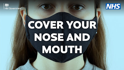 cover your nose and mouth