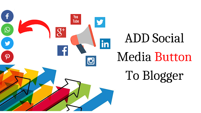 How To Add Social Share Button To Blogger