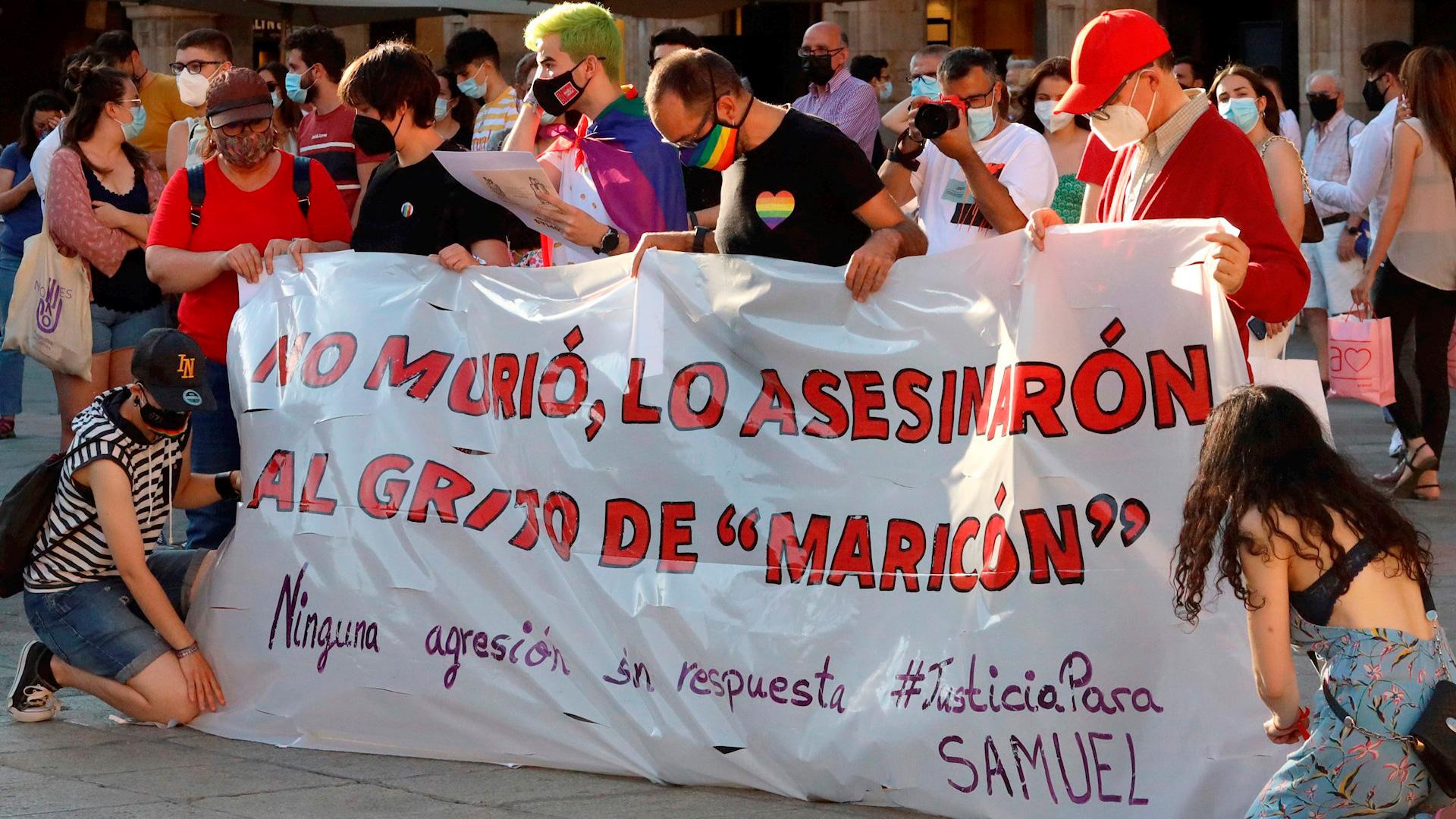 Conmoción en España por el brutal asesinato de un joven por ser homosexual