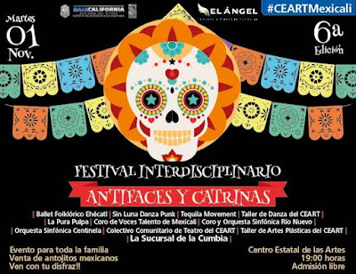 festival antifaces y catrinas mexicali 2916
