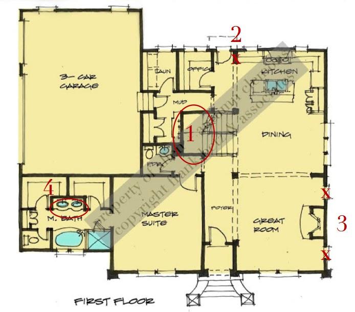 Design Dump Minor Floor Plan Changes