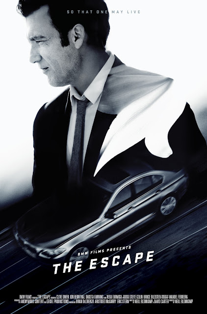 BMW The Hire The Escape Clive Owen Poster
