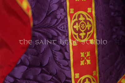 Violet Gothic Vestments
