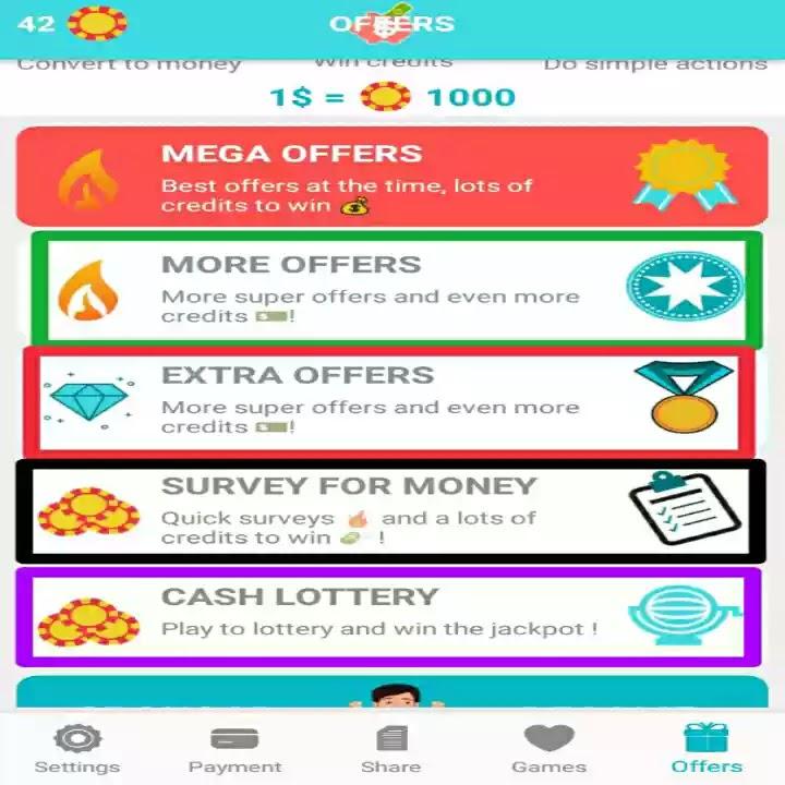 شرح الصفحة الرئيسية تطبيق الربح من مشاعدة الاعلانات