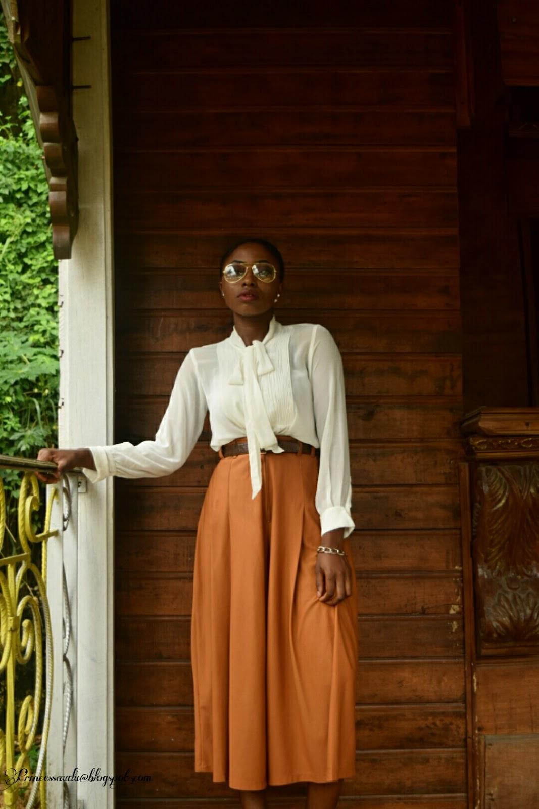 culottes, vintage, trend,