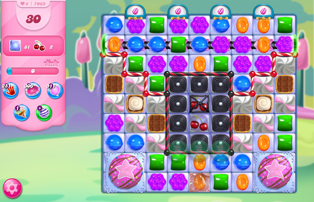 Candy Crush Saga level 7965