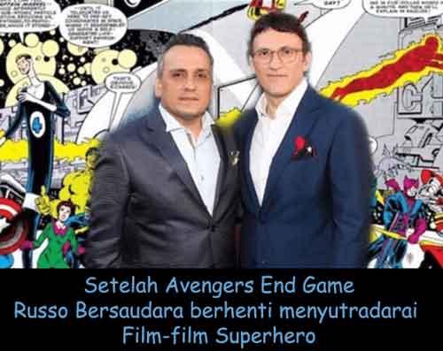 russo bersaudara pensiun menyutradarai film superhero