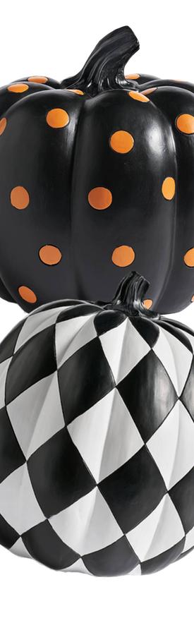 Grandin Road Designer Pumpkins (each sold separately)