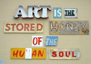 Humans need Art, relevance of art