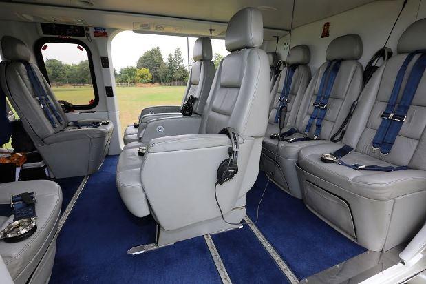 AgustaWestland AW139 interior