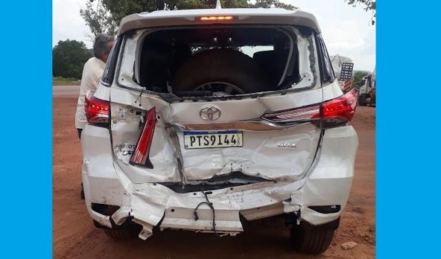 Presidente da CEADEMA Pastor Francisco Raposo sofre acidente de carro