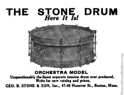 George B. Stone & Son Advertisement, July 1922