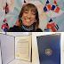 """Milly Quezada es reconocida """"High Honor"""" por el Congreso de los EE. UU."""