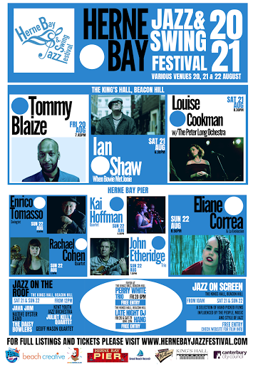 August 20 - 22 Herne Bay Jazz & Swing Festival