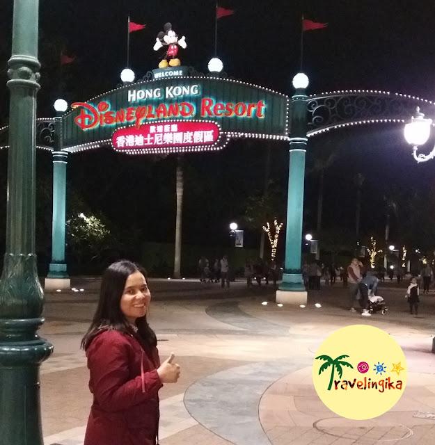 Trip to Hongkong Disneyland