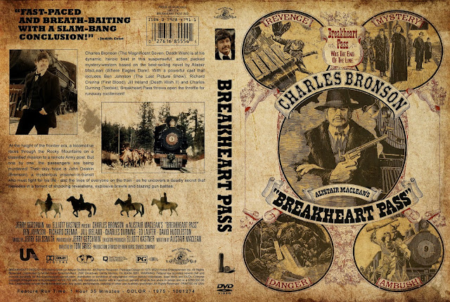 Breakheart Pass DVD Cover