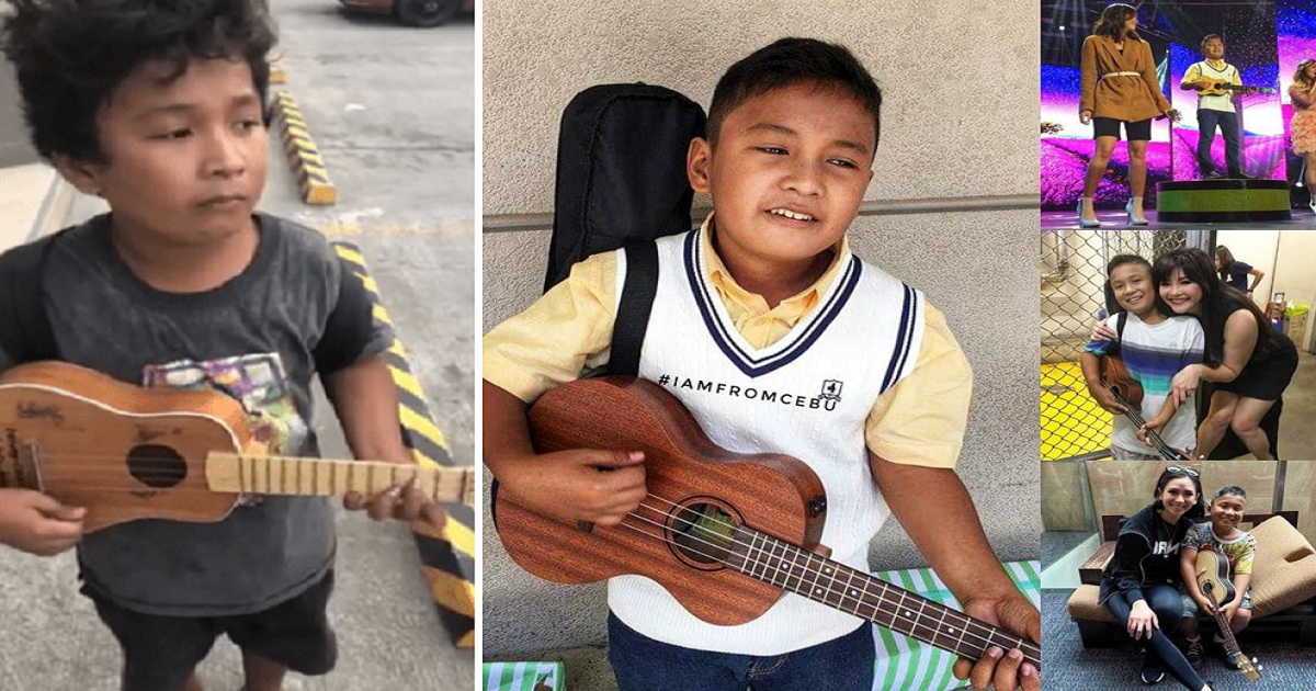 Viral 'Ukelele Boy' loses ukulele in fire that burned their house down, mom seeks help