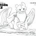 Desenhos para Pintar e Imprimir de Como Treinar seu Dragão 2