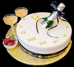 A party and wild celebrations cake for New year and Christmas parties